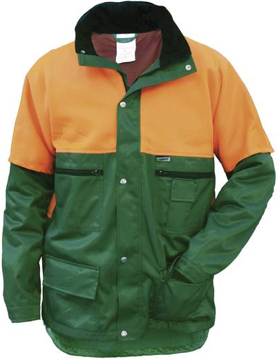 worky 4110 Forstschutzjacke Größe: XL Orange, Grün