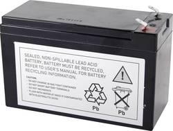 Náhradní akumulátor pro záložní zdroje (UPS) zařízení Conrad energy, náhrada za originální akumulátor RBC17
