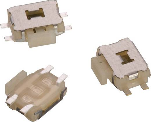 Drucktaster 12 V/DC 0.05 A 1 x Aus/(Ein) Würth Elektronik WS-TUS 434351045816 tastend 1 St.