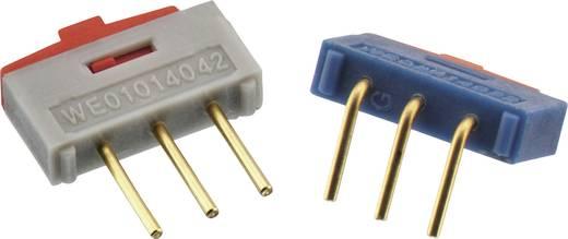 Schiebeschalter 1 x Ein/Ein Würth Elektronik 450301014042 1 St.