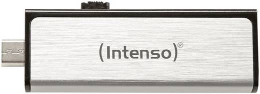 USB-Zusatzspeicher Smartphone/Tablet Intenso Mobile Line Silber 16 GB USB 2.0, Micro USB 2.0