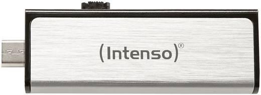 USB-Zusatzspeicher Smartphone/Tablet Intenso Mobile Line Silber 32 GB USB 2.0, Micro USB 2.0