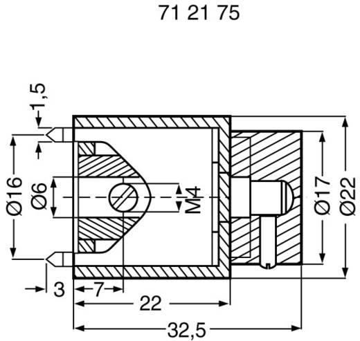 Drehknopf Aluminium (Ø x H) 22 mm x 32.5 mm Mentor 125.3 1 St.