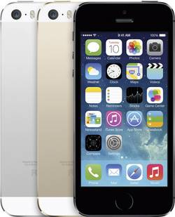 Image of Apple iPhone 5S 16 GB Grau