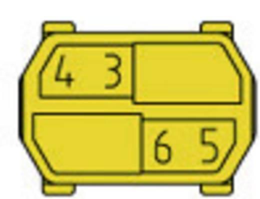 Kodiereinsatz für Hartmetrische Steckverbinder