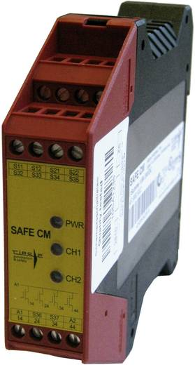 Sicherheitsrelais 1 St. SAFE CM Riese Betriebsspannung: 24 V/DC