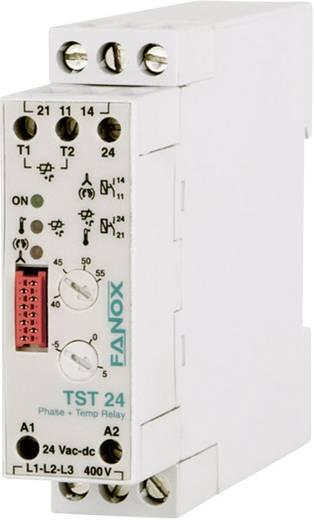 Überwachungsrelais 24 V/DC, 24 V/AC 1 Schließer 1 St. Fanox TST 24 Temperatur, 3-Phasen
