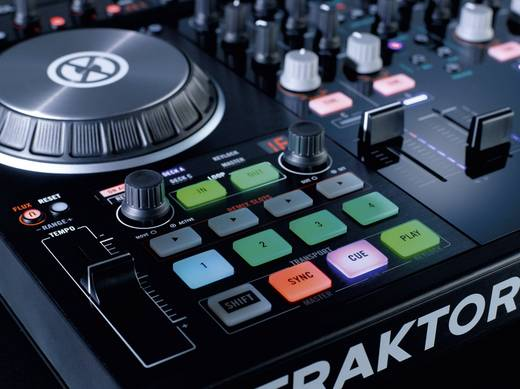 DJ Controller Native Instruments Traktor Kontrol S4 MK2
