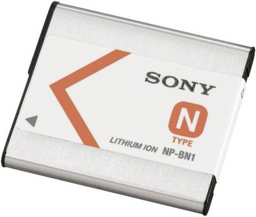 Kamera-Akku Sony ersetzt Original-Akku NP-BN1 3.6 V 630 mAh