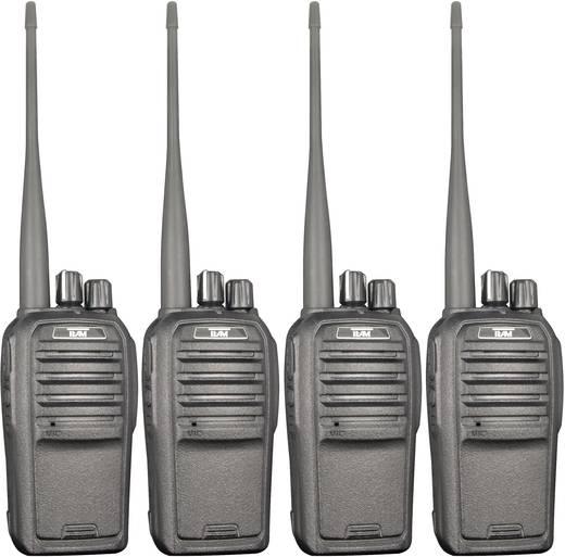 PMR-Handfunkgerät Team Electronic TeCom-SL PR8571 4er Set