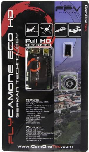 FlyCamOne eco HD 1080p 96° Linse
