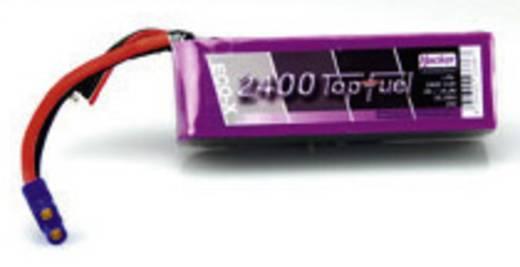 Modellbau-Akkupack (LiPo) 14.8 V 2400 mAh Zellen-Zahl: 4 20 C Hacker EC3