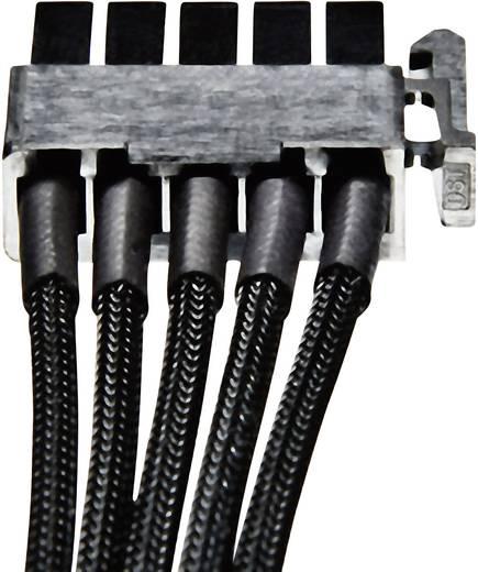 Strom Anschlusskabel [4x SATA-Strom-Stecker 15pol. - 1x IDE-Strom-Buchse 4pol.] 0.42 m Schwarz BeQuiet