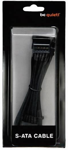 Strom Anschlusskabel [1x SATA-Strom-Stecker 15pol. - 1x bequiet! Stromanschluss modular] 0.30 m Schwarz BeQuiet