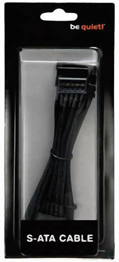 Strom Anschlusskabel [4x SATA-Strom-Stecker 15pol. - 1x bequiet! Stromanschluss modular] 0.90 m Schwarz BeQuiet