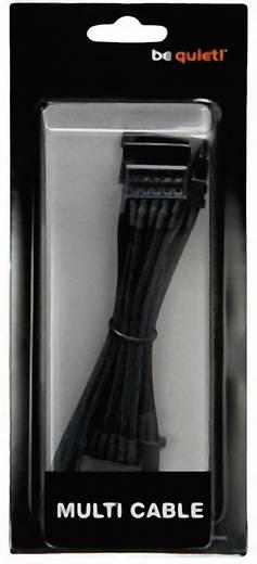 Strom Anschlusskabel [3x SATA-Strom-Stecker 15pol. - 1x IDE-Strom-Buchse 4pol.] 1 m Schwarz BeQuiet