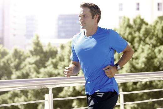 Runner GPS-Sportuhr Dunkelgrau inkl. Herzfrequenzmesser