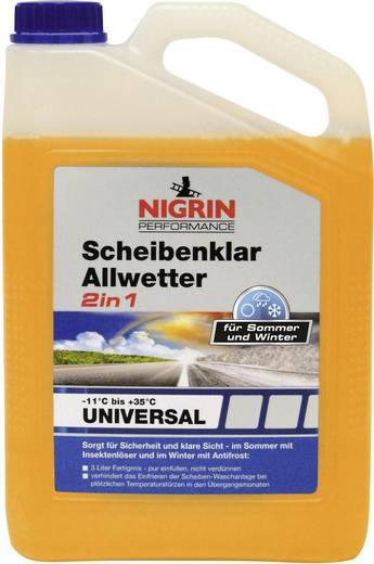 Nigrin Scheibenklar Allwetter 2in1 -11°C bis +35 °C 73188 3 l