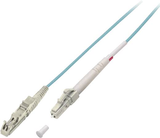 Glasfaser LWL Anschlusskabel [1x LC-Stecker - 1x E2000®-Stecker] 50/125µ Multimode OM3 15 m EFB Elektronik
