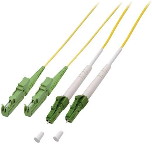 Glasfaser LWL Anschlusskabel [1x LC/APC 8°-Stecker - 1x E2000®/APC 8°-Stecker] 9/125µ Singlemode OS2 1 m EFB Elektronik