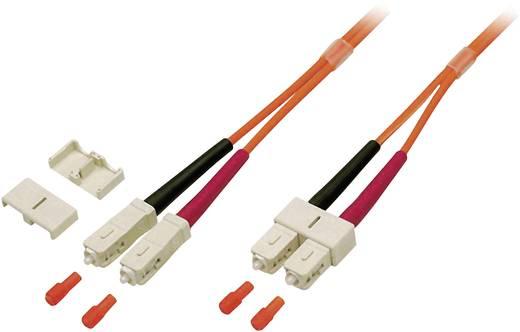 Glasfaser LWL Anschlusskabel [1x SC-Stecker - 1x SC-Stecker] 62,5/125µ Multimode OM1 15 m EFB Elektronik