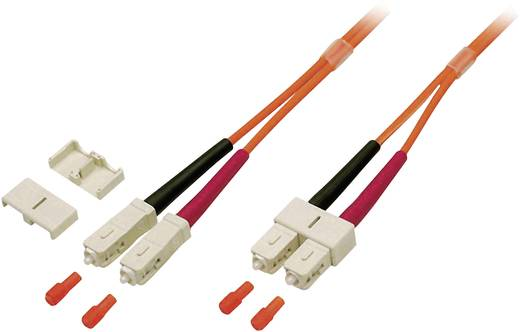 Glasfaser LWL Anschlusskabel [1x SC-Stecker - 1x SC-Stecker] 62,5/125µ Multimode OM1 2 m EFB Elektronik