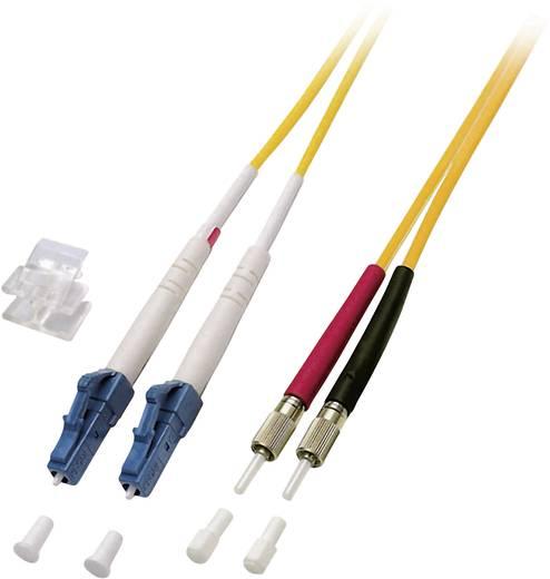 Glasfaser LWL Anschlusskabel [1x LC-Stecker - 1x DIN-Stecker] 9/125µ Singlemode OS2 20 m EFB Elektronik