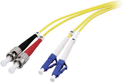 Glasfaser LWL Anschlusskabel [1x LC-Stecker - 1x ST-Stecker] 9/125µ Singlemode OS2 20 m EFB Elektronik