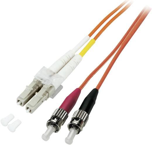 Glasfaser LWL Anschlusskabel [1x LC-Stecker - 1x ST-Stecker] 62,5/125µ Multimode OM1 2 m EFB Elektronik
