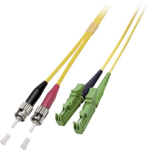 Glasfaser LWL Anschlusskabel [1x E2000®/APC 8°-Stecker - 1x ST-Stecker] 9/125µ Singlemode OS2 5 m EFB Elektronik