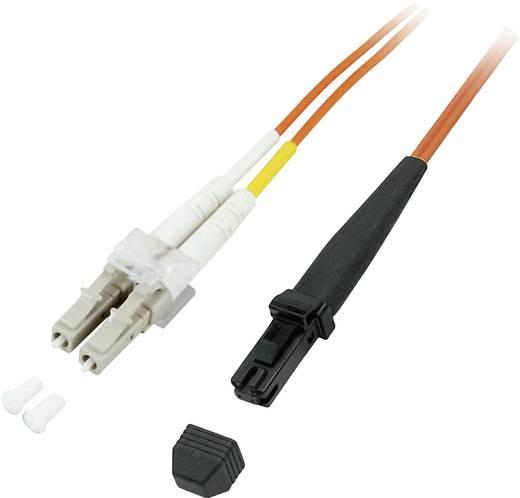 Glasfaser LWL Anschlusskabel [1x MTRJ-Stecker - 1x LC-Stecker] 62,5/125µ Multimode OM1 20 m EFB Elektronik