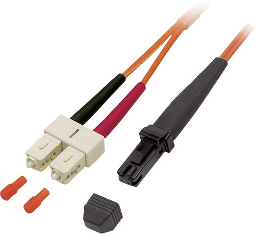 Glasfaser LWL Anschlusskabel [1x MTRJ-Stecker - 1x SC-Stecker] 50/125µ Multimode OM2 20 m EFB Elektronik