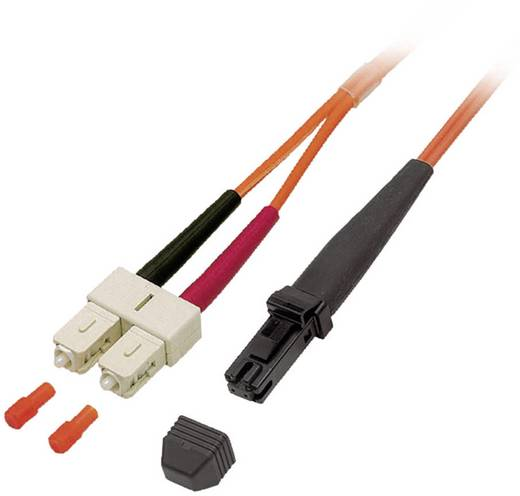 Glasfaser LWL Anschlusskabel [1x MTRJ-Stecker - 1x SC-Stecker] 62,5/125µ Multimode OM1 7.50 m EFB Elektronik