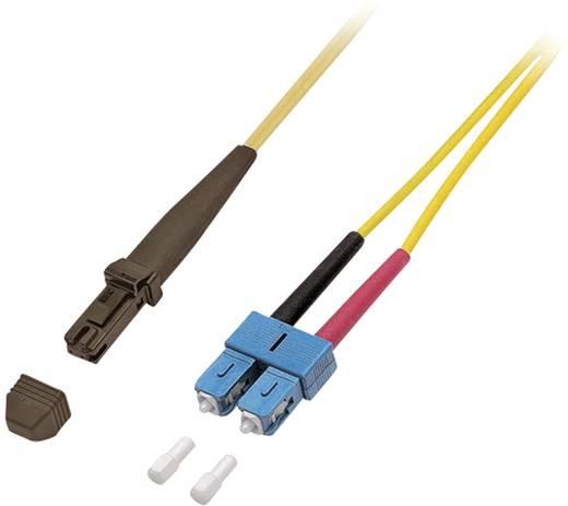 Glasfaser LWL Anschlusskabel [1x MTRJ-Stecker - 1x SC-Stecker] 9/125µ Singlemode OS2 2 m EFB Elektronik