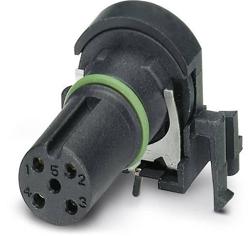 Sensor-/Aktor-Einbausteckverbinder M12 Buchse, Einbau Polzahl (RJ): 4 Phoenix Contact 1432444 SACC-CI-M12FS-4CON-L 90 S