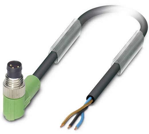 Sensor-/Aktor-Steckverbinder, konfektioniert M8 Stecker, gewinkelt 1.50 m Polzahl: 3 Phoenix Contact 1681693 SAC-3P-M 8M