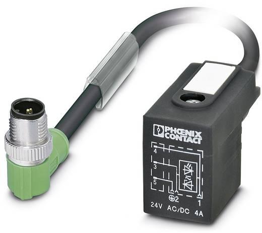 Sensor-/Aktor-Steckverbinder, konfektioniert M12 Stecker, gewinkelt Polzahl (RJ): 3 Phoenix Contact 1438901 SAC-3P-MR/7