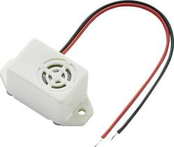 Buzzer miniature KEPO KPMB-G2224L-K6345 75 dB 24 V 33 mm x 16 mm x 14.5 mm 1 pc(s)