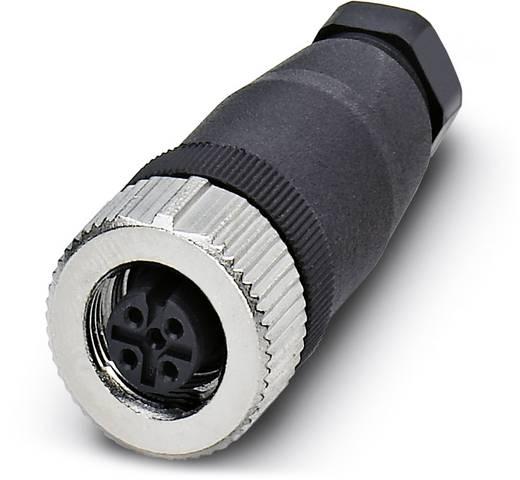 Sensor-/Aktor-Steckverbinder, unkonfektioniert M12 Buchse, gerade Polzahl: 4 Phoenix Contact 1543029 SACC-FS-4CON-PG 7-