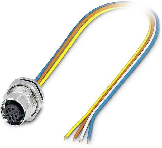 Sensor-/Aktor-Einbausteckverbinder M12 Stecker, Einbau 0.50 m Polzahl (RJ): 4 Phoenix Contact 1419616 SACC-DSI-M12FSD-4C