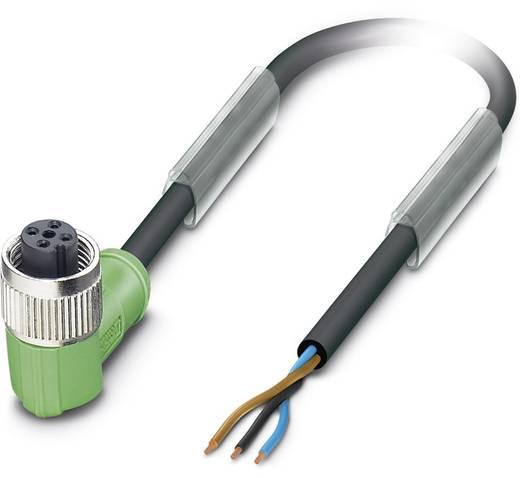 Sensor-/Aktor-Steckverbinder, konfektioniert M12 Buchse, gewinkelt 10 m Polzahl (RJ): 3 Phoenix Contact 1681017 SAC-3P-1