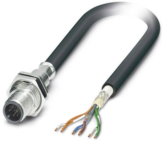Sensor-/Aktor-Einbausteckverbinder M12 Stecker, Einbau 0.50 m Polzahl: 8 Phoenix Contact 1429059 SACCBP-M12MS-6CON-M16/0