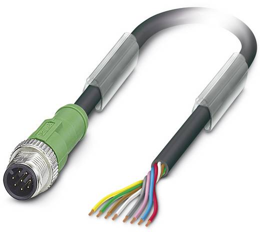 Sensor-/Aktor-Kabel SAC-8P-M12MS/ 3,0-PUR Phoenix Contact Inhalt: 1 St.