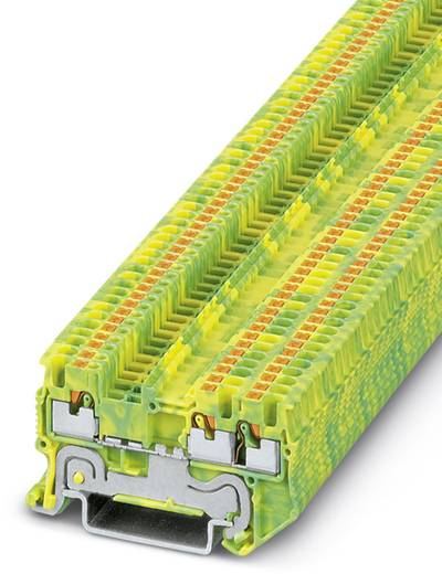 PT 1,5/S-TWIN-PE - Schutzleiter-Reihenklemme PT 1,5/S-TWIN-PE Phoenix Contact Grün-Gelb Inhalt: 50 St.
