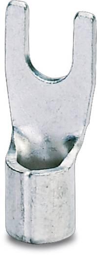 Gabelkabelschuh 1.10 mm² 2.50 mm² Loch-Ø=3.7 mm Unisoliert Metall Phoenix Contact 3240143 100 St.