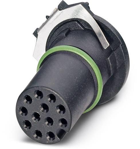 Sensor-/Aktor-Einbausteckverbinder M12 Buchse, Einbau Polzahl (RJ): 12 Phoenix Contact 1457704 SACC-CI-M12FS-12CON-SH T
