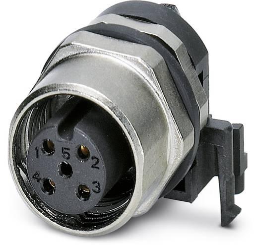 Sensor-/Aktor-Einbausteckverbinder M12 Buchse, Einbau Polzahl (RJ): 4 Phoenix Contact 1436564 SACC-DSIV-FS-4CON-L90 SCO