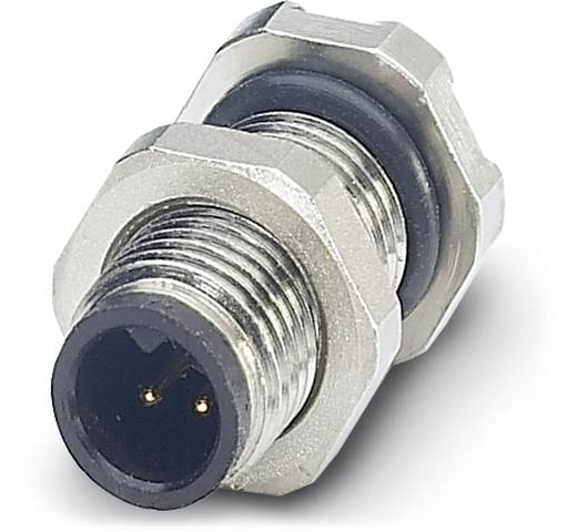 Sensor-/Aktor-Einbausteckverbinder M5 Stecker, Einbau Polzahl (RJ): 4 Phoenix Contact 1530634 SACC-DSI-M5MS-4CON-L180 2