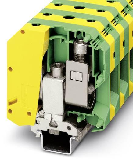 USLKG 95 B - Schutzleiter-Reihenklemme USLKG 95 B Phoenix Contact Grün-Gelb Inhalt: 10 St.