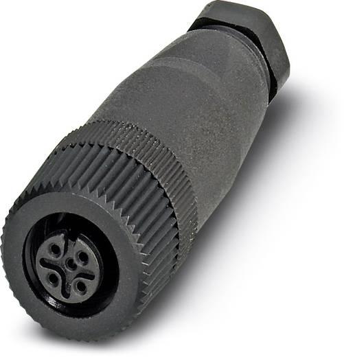 Sensor-/Aktor-Steckverbinder, unkonfektioniert M12 Buchse, gerade Polzahl (RJ): 5 Phoenix Contact 1662298 SACC-M12FS-5C